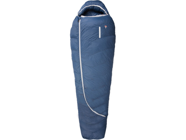 Grüezi-Bag Biopod DownWool Ice 185 - Sac de couchage - bleu
